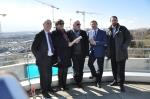 Inauguration des travaux de l'IEPA de Pont-Rouge