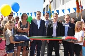 Inauguration du complexe sportif intercommunal du Sapay