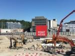 Inauguration des travaux sur la future esplanade de Pont-Rouge